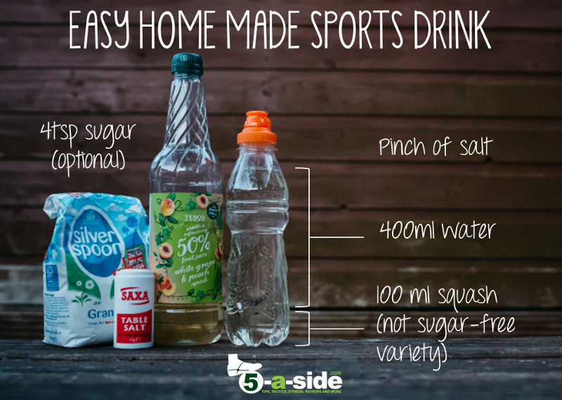 How To Make Your Own Isotonic Sports Drink 5 A Side Com