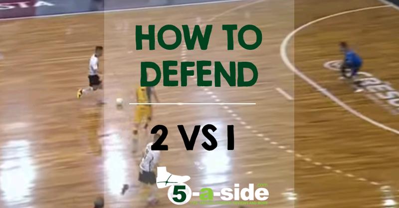 Defending 2 vs 1