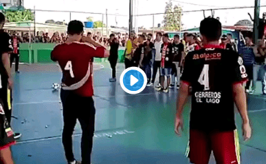 Dead Man Scores Goal Before Being Taken off To Funeral